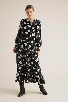 Seed Heritage Floral Midi Dress