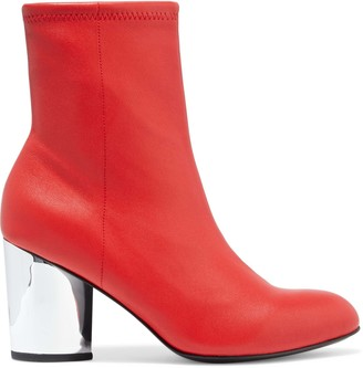 Opening Ceremony Dylan Stretch-leather Sock Boots
