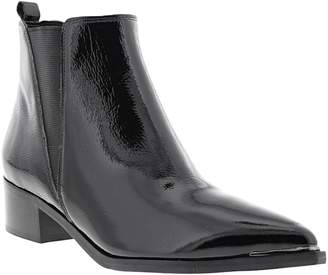 Marc Fisher Patent Chelsea Boots
