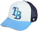 '47 Women's Tampa Bay Rays Glimmer Captain Snapback Cap