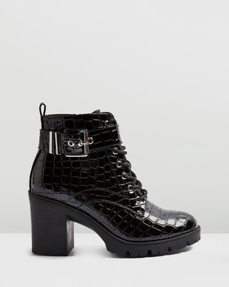 Topshop Broadway Lace-Up Boots