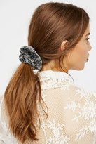Free People Faux Fur Scrunchie