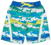 Big Chill Boys 4-7 Camouflage Shark Swim Trunks