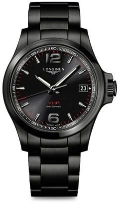 Longines Conquest V.H.P. Bracelet Watch