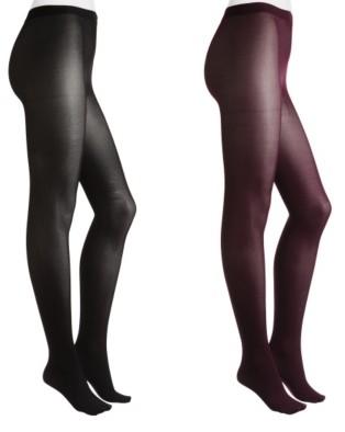 Hue Hosiery Opaque Women's Tights - 2 Pack