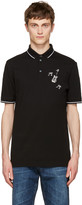 Dolce & Gabbana Black Guitar Polo