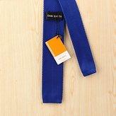 Crimson Solid Happy Gentlemen Skinny Neck Tie Woven Microfiber Suppliers For Wedding By Dan Smith