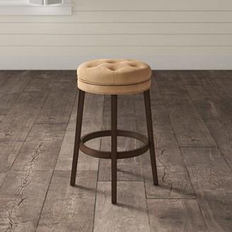 """Red Barrel Studio Shearson Counter & Short Swivel Stool Seat Height: Counter Stool (25.5"""" Seat Height)"""