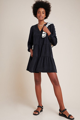 Maeve Susannah Tiered Tunic By in Black Size 1 X
