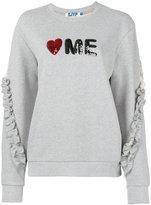 SteveJ & YoniP Steve J & Yoni P - Love Me sweatshirt - women - Cotton - S