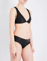 Calvin Klein Cutting Edge Calvin triangle bikini top