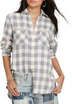 Denim & Supply Ralph Lauren Linen and Cotton Blend Utility Shirt