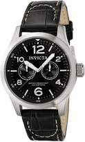 Invicta Men's 0764 II Collection Dial Leather Watch