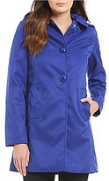 Kate Spade A Line Snap Front Mac Raincoat