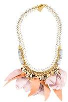 Lizzie Fortunato Woven Petal Collar Necklace