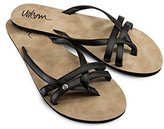 Volcom Women's Look Out Thong Sandal