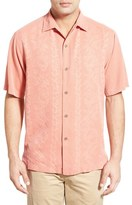 Tommy Bahama 'Lei Riviera Jacquard' Regular Fit Silk Camp Shirt