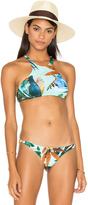Vitamin A Cozumel High Neck Bikini Top