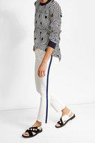 Victoria, Victoria Beckham Flared Jeans with Tuxedo Stripe