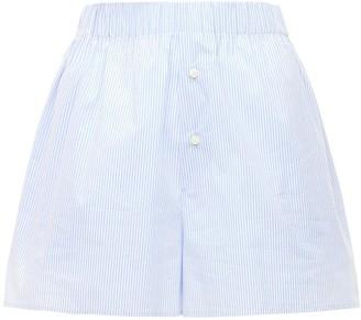 The Andamane Giordana Boyfriend Poplin Shorts
