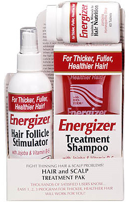 Energizer Hair And Scalp Treatment Pack