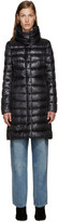 Herno Black Nylon Classic Cocoon Down Jacket