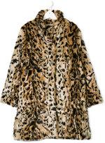 Essence Kids Teen faux fur coat