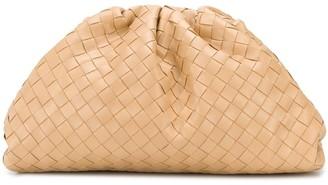 Bottega Veneta The Woven Pouch in Nude