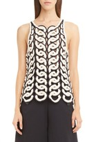 Chloé Women's Circle Crochet Tank
