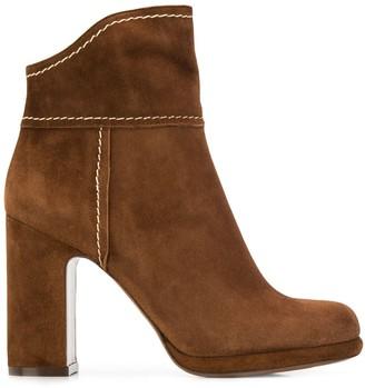 L'Autre Chose High Heeled Ankle Boots
