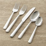 Crate & Barrel Strand 5-Piece Flatware Place Setting
