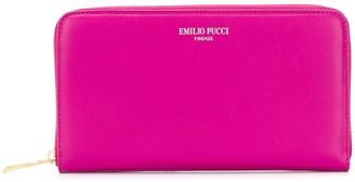 Emilio Pucci Zip Around Wallet