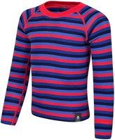 Mountain Warehouse Merino Kids Stripe Round Neck Top