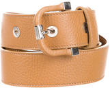 Tod's Leather Buckle Belt w/ Tags