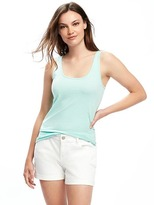 Old Navy Fitted Scoop-Neck Tank for Women