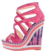 Christian Louboutin Tosca 140 Wedge Sandals