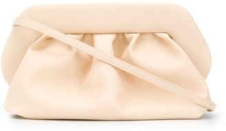 Themoire Ruched Shoulder Bag