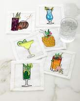 Kim Seybert Summer Drinks Cocktail Napkins, Set of 6