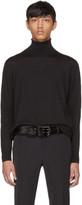 Prada Black Wool Turtleneck