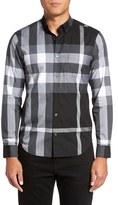 Burberry Men's 'Fred' Trim Fit Sport Shirt