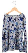 Autumn Cashmere Girls' Wool Splatter Sweater