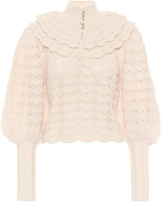 Zimmermann Ladybeetle wool sweater