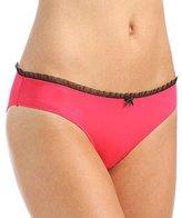 Betsey Johnson Women's Peek-A-Boo Lace Bikini Panty