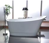 "vanityart 67"" x 24"" Freestanding Soaking Bathtub"