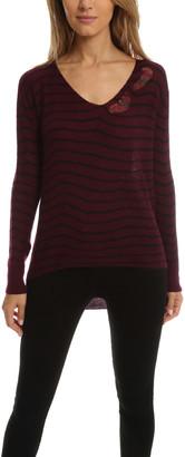 RtA Camille Deep V Sweater