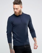 Jack and Jones Long Sleeve Polo Shirt