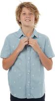 Lee Kids Boys Short Sleeve Shirt Blue