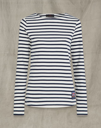 Belstaff Britannia Drey Long Sleeved T-Shirt