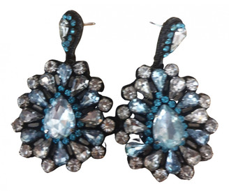 Deepa Gurnani Multicolour Crystal Earrings