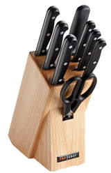 TOP CHEF Classic 9-Piece Knife Block Set